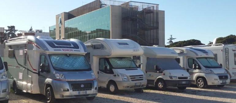 Area Attrezzata per Camper a Roma