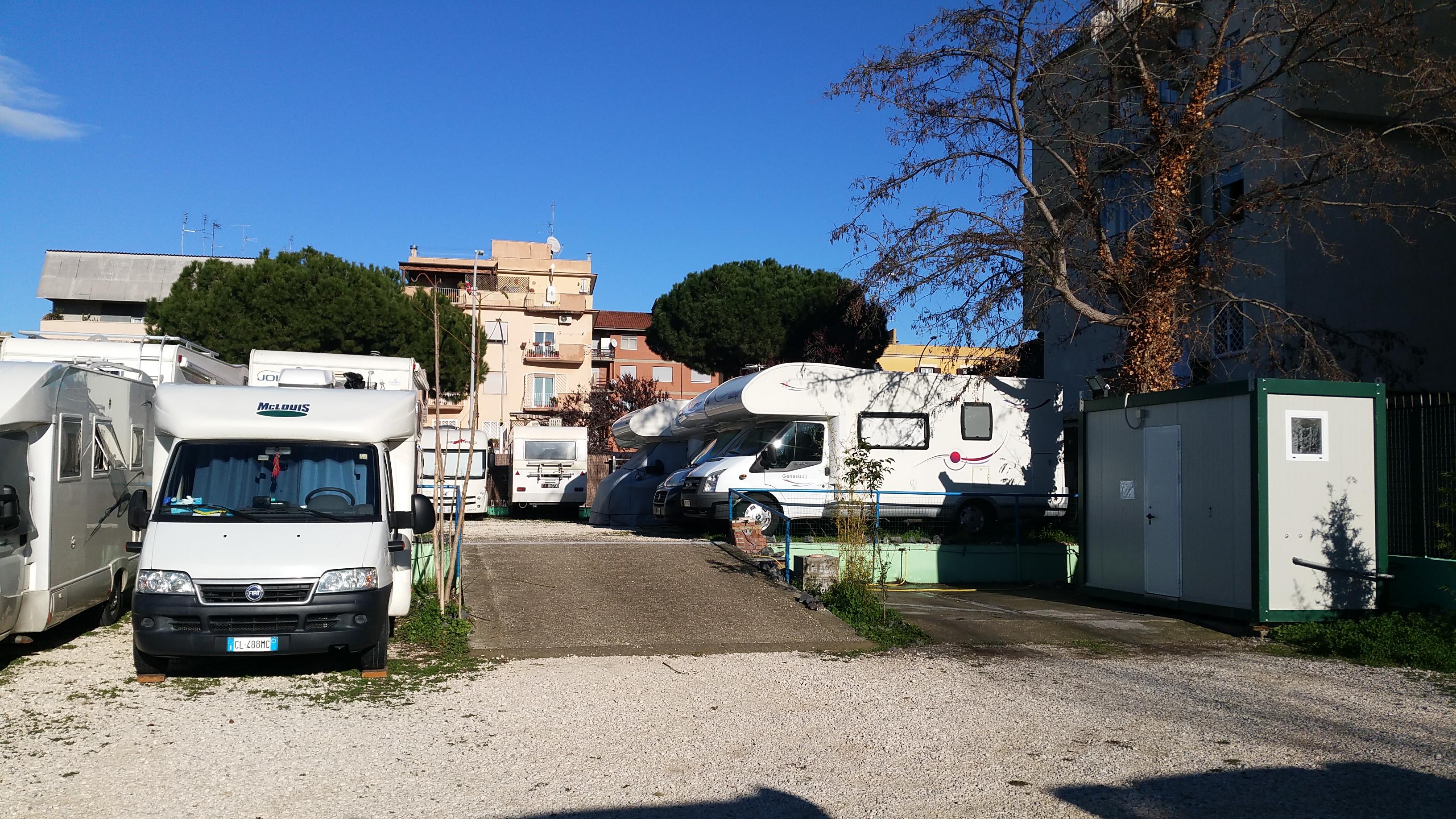 Area Sosta Attrezzata Roma